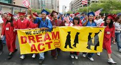 Students march in support of the DREAM Act in Phoenix. | Reuters