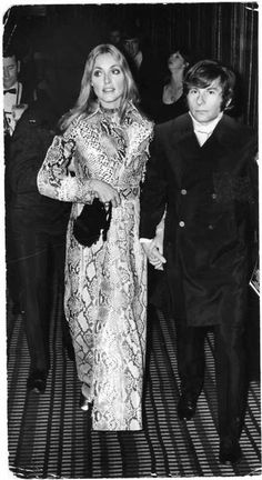 Sharon Tate and Roman Polanski, 1967.