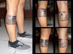 Ring, leg tattoo on TattooChief.com