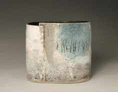 Ceramics by Craig Underhill at Studiopottery.co.uk - Misty Landscape. Height 21cm. 2007.