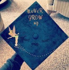tinkerbell graduation cap