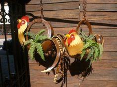 Aves de llantas on pinterest old tires garden planters for Maceteros con ruedas de coche