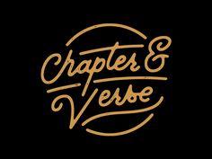 Chapter & Verse by Karli Ingersoll