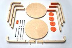 DIY Draisienne (hack of IKEA's frosta stool by Andreas Bhend and Samuel N. Bernier)