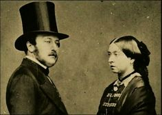 Queen Victoria ruled for over 60 years. She ascended to the throne at the age of only 18 and married her cousin Prince Albert of Saxe-Coburg and Gothe and together they had 9 children. Queen Victoria Family, Queen Victoria Prince Albert, Victoria Reign, Victoria And Albert, Pictures Of Queen Victoria, Best Wedding Songs, Wedding Music, Wedding Things, Prince Albert