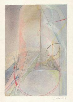 Title: Untitled, 2018 -2020  Medium: Chalks, spray paint, graphite andpencilson paper  Size: 28x 20,5 cm /11 × 8 1/10 in, artsy Paper Size, Graphite, Artsy, Abstract, Medium, Artwork, Painting, Graffiti, Summary