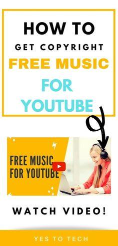 Free Music Sites, Free Music Download Sites, Get Free Music, Free Music For Videos, Music Videos, Youtube Share, You Youtube, Youtube Free Music, Free Background Music
