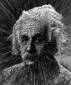 #Einstein - Hot 3D Art by Adam Martinakis