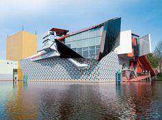 Groninger Museum Niederlande - KerAion facade system by AGROB BUCHTAL