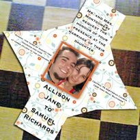 Box-invitation for wedding.  Caja-invitación para boda.