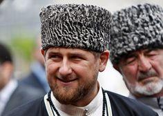 Ramzan Kadyrov Groznyissä vuosi sitten.