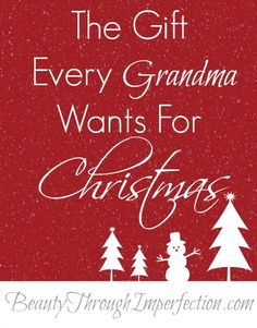 Perfect Christmas Gift Idea for out of town grandparents!
