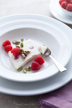 Honey Yogurt Semifreddo