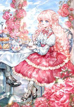 Find My Dad, Manga Art, Anime Art, Romantic Manga, Yandere Anime, Manga Collection, Anime Princess, Anime Couples Manga, Manga Covers