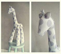 MR GIRAFFE - Plushie Sewing Pattern - PDF soft toy animal pattern