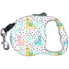 This adorably cute llama print leash will let you walk your pet in style! Dog Furniture, Dog Clothes Patterns, Toy Puppies, Cat Accessories, Dog Leash, Dog Harness, Girl And Dog, Baby Dogs, Dog Supplies