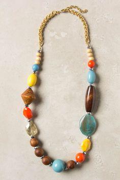 Anthropologie Pieced Prism Necklace