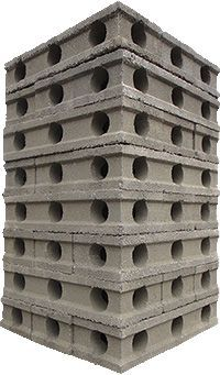 APEX Block™ is a revolutionary energy saving building product that provides protection against flood, fire, high winds, earthquakes and infestation. Unlike other Insulated Concrete Forms (ICFs), APEX Block™ fits together in a Keystone Interlocking System™ and eliminates the time and cost of expensive bracing and connection methods.