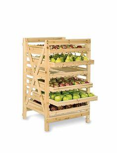 Vegetable storage racks