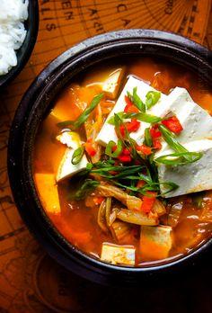 Delicious homemade recipe for Kimchi JjiGae - Korean Kimchi Stew
