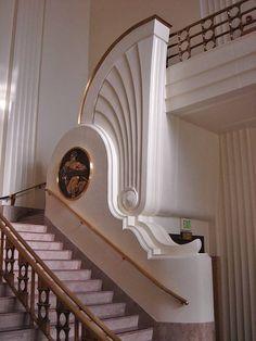 Art Deco Staircase.