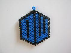 I made the Doctor Who logo out of hama beads and stuck a magnet on the back. What does everyone think? xxx
