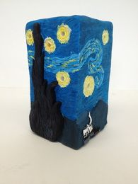 Intro High School Ceramics - Create a 3-D version of famous painting