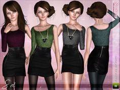 Troublemaker by Simsimay  http://www.thesimsresource.com/downloads/1186136