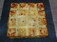 Quiche sans pâte façon tartiflette ou Quich'tiflette Cas, Beignets, Entrees, Waffles, Lunch Box, Brunch, Bread, Cheese, Breakfast