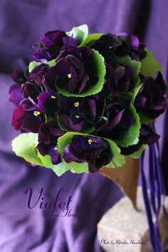 すみれ色の花束 : La Fleur