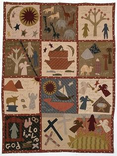 """Jan Patek's """"Bible Quilt""""  Too cool! ( have the pattern ..always wanted to make it"""