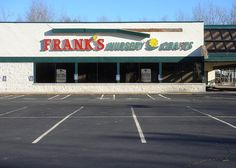 Franks Nursery We used to stop by after Church on Sundays for plants.  I still remember the chemical fertilizer smell in there.