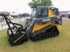 John Deere compact track loader