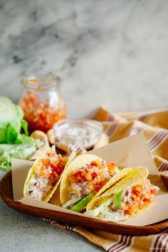 Tuna tacos on pinterest tuna tacos and ahi tuna recipe for Tuna fish tacos