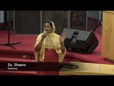Testimony | Sis.Sheena Mathew [Malayalam Christian Testimony]