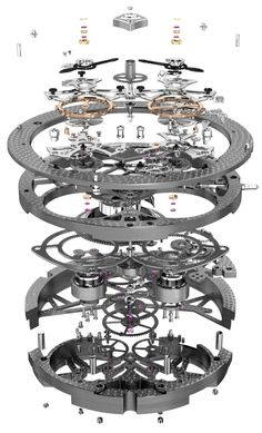 Roger Dubuis Excalibur Quatuor Watch Hands-On #roger-dubuis #horlogerie @calibrelondon