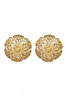 Enjoy Designer Earrings online at our shopping store Andaaz Fashion with cheap price   http://www.andaazfashion.co.uk/jewellery/earrings/crystal-studded-jhumka-earrings-80747.html