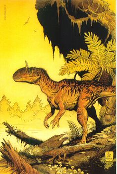 The paleoart of William Stout.