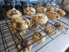 Paleo Chocolate Chip Cookies- these are SO good!!!