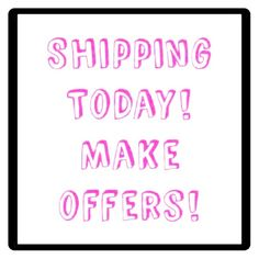 SHIPPING TODAY  Hi girls make a offers is time to ship !! offers welcome  PINK Victoria's Secret Other