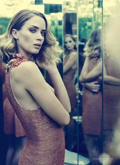 blunt and beautiful. emily blunt by jason bell for harper's bazaar australia nov 2012