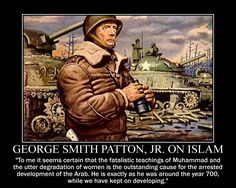 George S. Patton on Islam by fiskefyren on DeviantArt Great Quotes, Quotes To Live By, Inspirational Quotes, Sensible Quotes, Military Humor, Military History, Quotations, Qoutes, George Patton