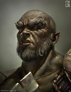 The Last Orc by raynnerGIL.deviantart.com on @DeviantArt
