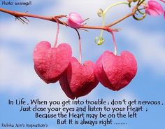 A right heart.  rishikajain.com - Control love and emotions... Click the pic for more.
