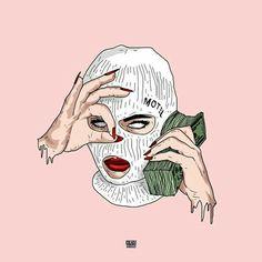 Badass Drawings, Hipster Drawings, Trippy Drawings, Dope Cartoons, Dope Cartoon Art, Arte Dope, Dope Art, Bad Girl Wallpaper, Cartoon Wallpaper