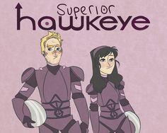 Hawkeye and hawkeye as jaeger pilots