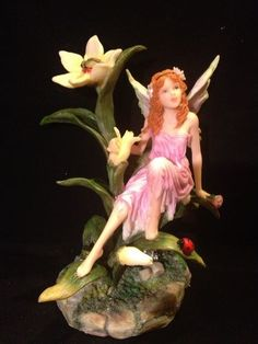 #Fairy Frenzy No. 5744 Fantasy Fairyland Romantic Faeries Summit Collection 2001 Figurine Statue Sculpture $44.99 Classicsncollectiblesbycheryl.com