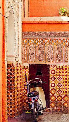 Colourful Mosaics Marrakech