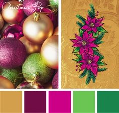 This Christmas Pop color inspiration lets your festive designs have as much personality as you do.