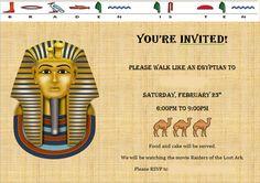 Walk like an Egyptian….Party!